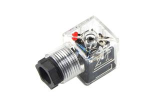 A型普通带灯插头(液压电磁阀插头)