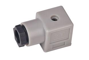 A型普通A14灰插头(液压电磁阀插头)