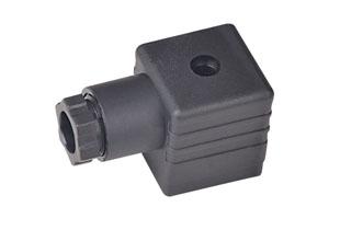 A型PG9-B12黑插头(液压千亿体育官网插头)
