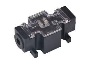 电磁阀接线盒(盒式电磁阀连接器)