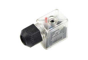 Solenoid valve connectors type B